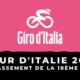Tour d'Italie 2021 - Le classement de la 18ème étape