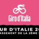 Tour d'Italie 2021 - Le classement de la 2ème étape