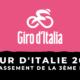 Tour d'Italie 2021 - Le classement de la 3ème étape