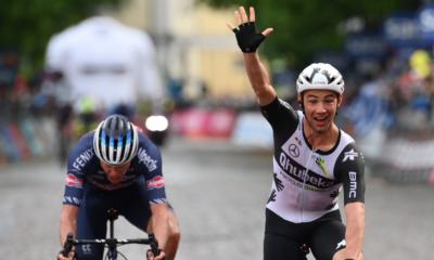 Tour d'Italie 2021 : Victor Campenaerts gagne la 15ème étape