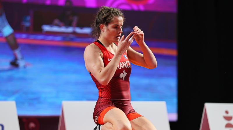 Tournoi de qualification olympique de lutte : Mathilde Rivière décroche son billet