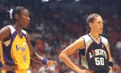21 juin 1997 : Match inaugural de la WNBA entre Liberty et Sparks