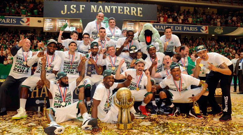 8 juin 2013 : Le premier titre en Pro A pour Nanterre