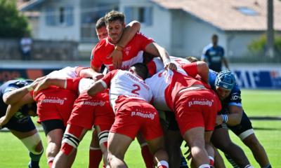 Access match Top 14 - Biarritz arrache sa montée au terme d'une séance de tirs au but !
