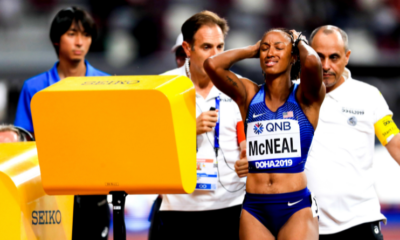 Brianna McNeal, championne olympique de 100 m haies, suspendue 5 ans !