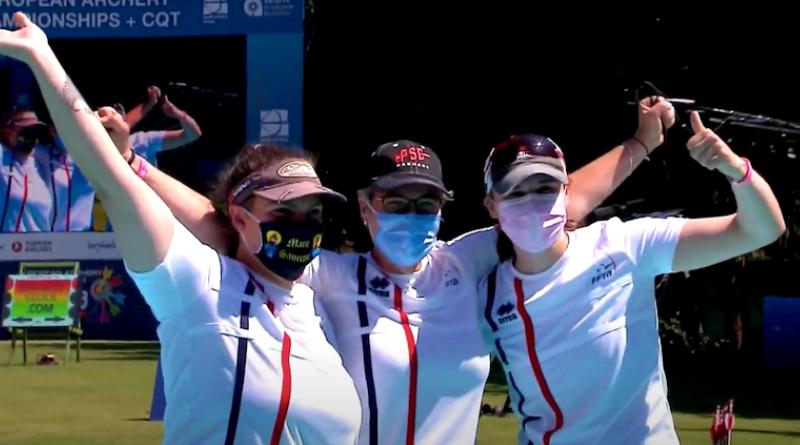 Championnats d'Europe de tir à l'arc : l'équipe féminine titrée en arc à poulies