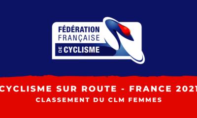 Championnats de France 2021 - Contre-la-montre femmes : le classement