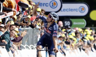 Cyclisme - Tour de France 2021 - Mathieu van der Poel fait coup double sur la 2ème étape