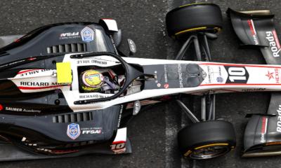 Formule 2 : Poignet fracturé pour Théo Pourchaire après une week-end difficile à Bakou