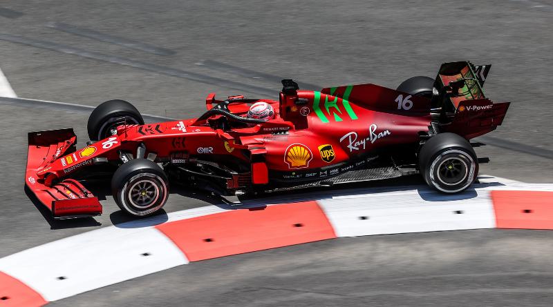 Grand Prix d'Azerbaïdjan - Charles Leclerc signe la pole position, Pierre Gasly en 2ème ligne