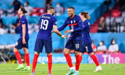 Le magnifique coup du foulard de Karim Benzema pour lancer Kylian Mbappé