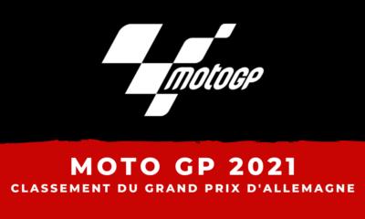 MotoGP – Grand Prix d'Allemagne 2021 : le classement de la course