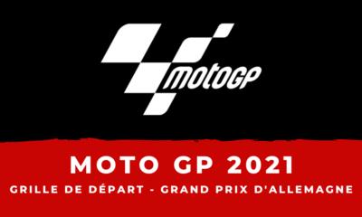 MotoGP - Grand Prix d'Allemagne 2021 : la grille de départ