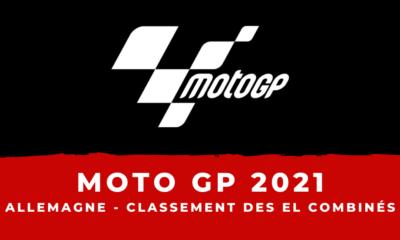 MotoGP - Grand Prix d'Allemagne 2021 - Le classement des essais libres combinés