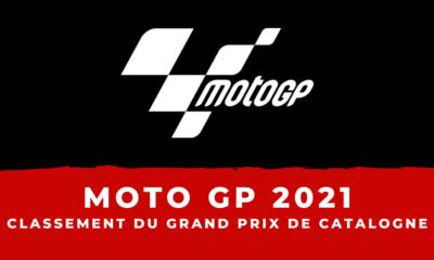 MotoGP - Grand Prix de Catalogne 2021 - Le classement de la course