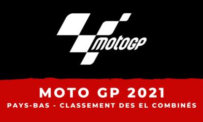 MotoGP - Grand Prix des Pays-Bas 2021 - Le classement des essais libres combinés