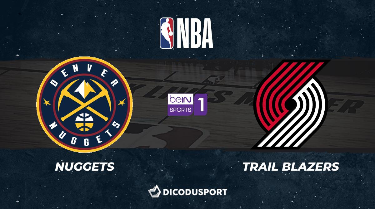 NBA - Playoffs notre pronostic pour Denver Nuggets - Portland Trail Blazers (Game 5)