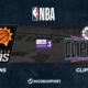 NBA - Playoffs notre pronostic pour Phoenix Suns - Los Angeles Clippers (Game 1)
