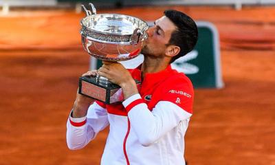 Novak Djokovic Roland-Garros 2021