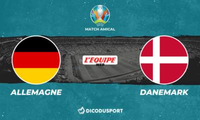 Pronostic Allemagne - Danemark, match amical