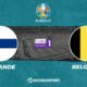Pronostic Finlande - Belgique, Euro 2020