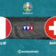 Pronostic Italie - Suisse, Euro 2020
