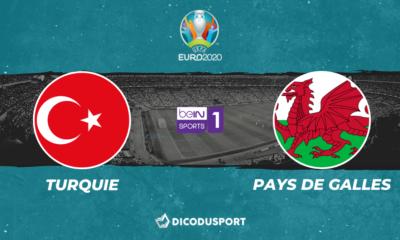 Pronostic Turquie - Pays de Galles, Euro 2020