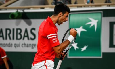 Roland-Garros : Djokovic écarte Berrettini et file en demi-finales