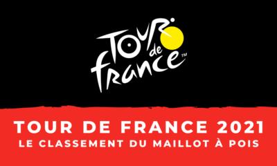 Tour de France 2021 - Le classement de la montagne – Maillot à pois