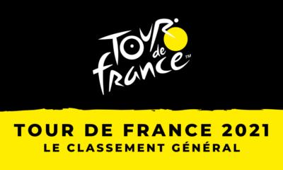 Tour de France 2021 - Le classement général – Maillot jaune