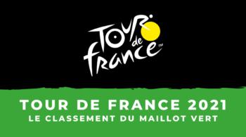 Tour de France 2021 – Le classement par points – Maillot vert
