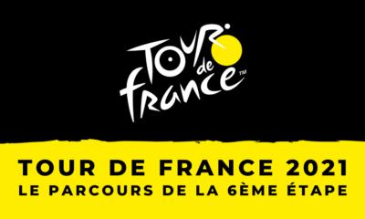 Tour de France 2021 - Le parcours de la 6ème étape