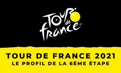 Tour de France 2021 - Le profil de la 6ème étape
