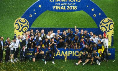 15 juillet 2018 : Les Bleus ramènent la coupe à la maison