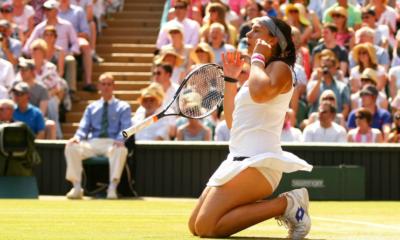 6 juillet 2013 - Premier sacre en Grand Chelem pour Marion Bartoli