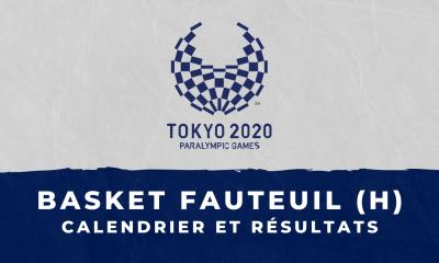 Basket fauteuil masculin - Jeux Paralympiques de Tokyo calendrier et résultats