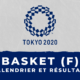 Basket féminin - Jeux olympiques de Tokyo : calendrier et résultats