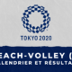 Beach-volley féminin - Jeux Olympiques de Tokyo calendrier et résultats