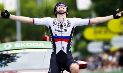Cyclisme - Tour de France 2021 - Le numéro de Matej Mohoric sur la 7ème étape, Roglic perd tout