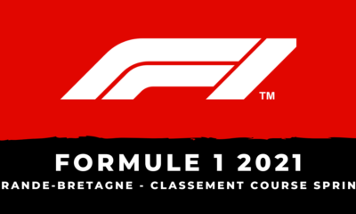 F1 - Grand Prix de Grande-Bretagne 2021 le classement de la course sprint