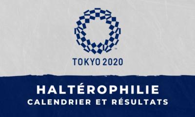 Haltérophilie - Jeux Olympiques de Tokyo calendrier et résultats