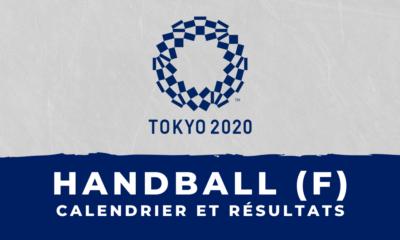 Handball féminin - Jeux olympiques de Tokyo calendrier et résultats
