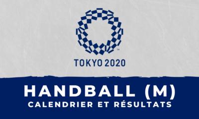 Handball masculin - Jeux olympiques de Tokyo calendrier et résultats