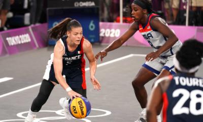 JO Tokyo 2020 – Basket 3X3 Les Bleues perdent en demies, le bronze reste possible