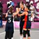 JO Tokyo 2020 - Basket 3X3 Les Bleues réagissent en renversant l'Italie