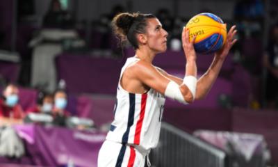 JO Tokyo 2020 - Basket 3X3 Troisième défaite pour des Bleues en cruel manque d'adresse