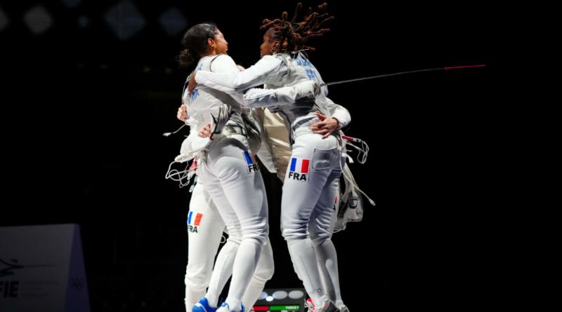 JO Tokyo 2020 - Escrime les Bleues vice-championnes olympiques du fleuret