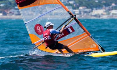 JO Tokyo 2020 - Voile Charline Picon remporte la médaille d'argent en RSX