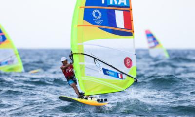 JO Tokyo 2020 - Voile Thomas Goyard vice-champion olympique de RSX