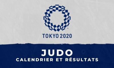 Judo - Jeux Olympiques de Tokyo calendrier et résultats